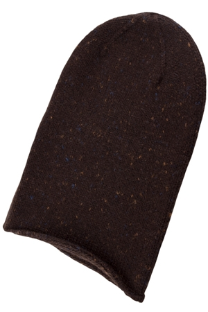 Ladies Tweed Cashmere Beanie