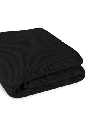 Waffle Stitch Cashmere Blanket - Single