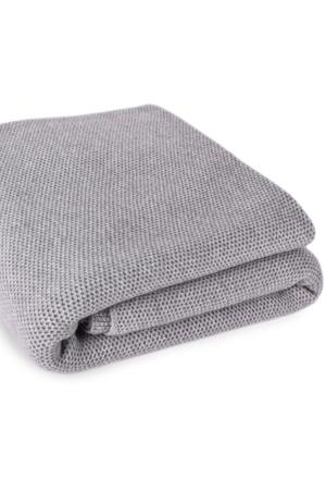 Waffle Stitch Cashmere Blanket - King