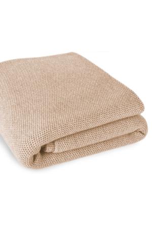 Waffle Stitch Cashmere Blanket - Super King