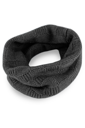 Checked Cashmere Snood